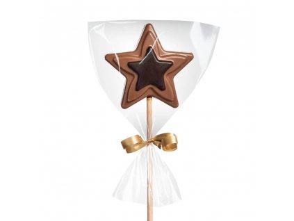 domaci cokoladove lizatko hvezda mlecne horke cokoladovna janek.jpg