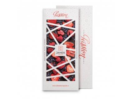 tabulka horke cokolady passion 72 procent s fialkou jahodou malinou cokoladovna janek.jpg