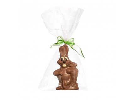 cokoladovy zajic velikonoce figurka cokolada cokoladovna janek