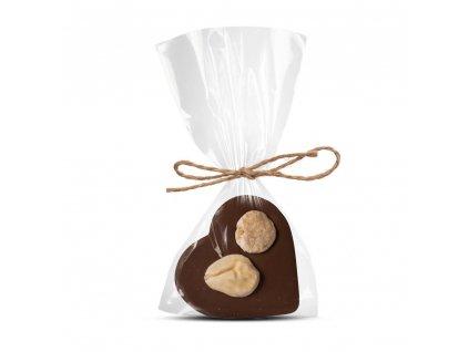 mlecne cokoladove srdicko s mandli cokoladovna janek