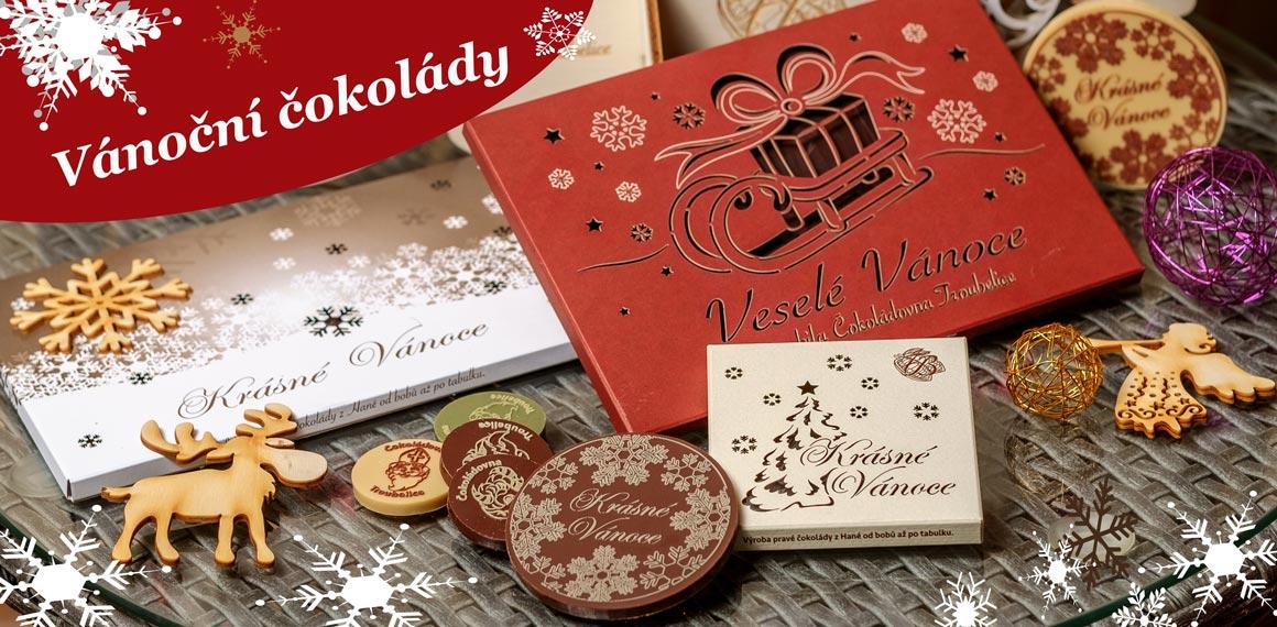 Vánoční čokolády