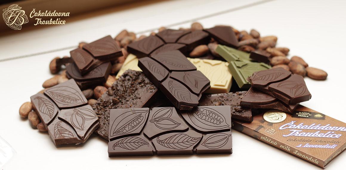 Hromada čokolád