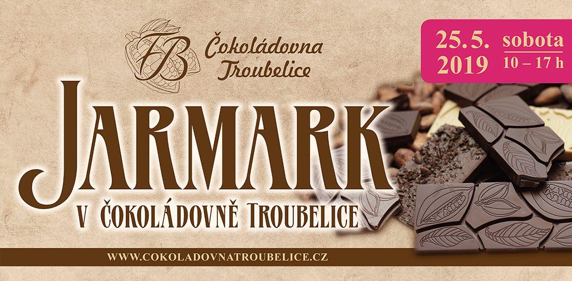 Jarmark v Čokoládovně Troubelice 5/2019