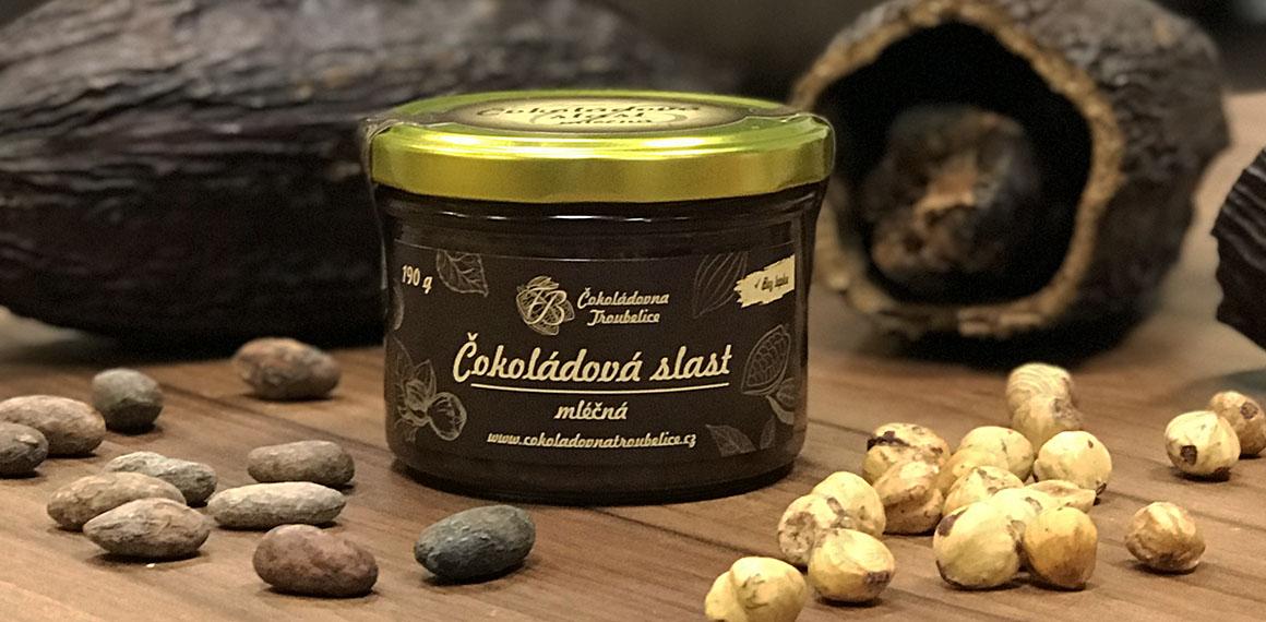 Čokoládová slast mléčná