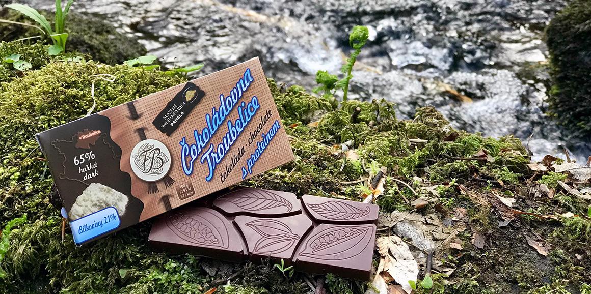 Proteinová čokoláda