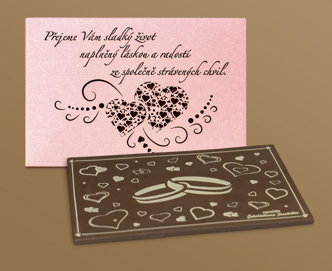 Svatební čokolády
