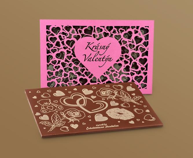 Valentýnské čokolády