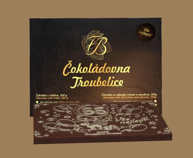 Narozeninové čokolády
