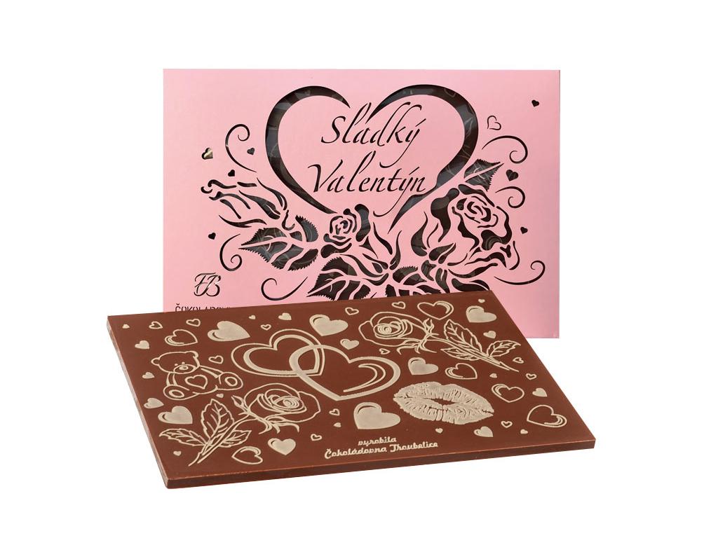 valentýn perleť růžová