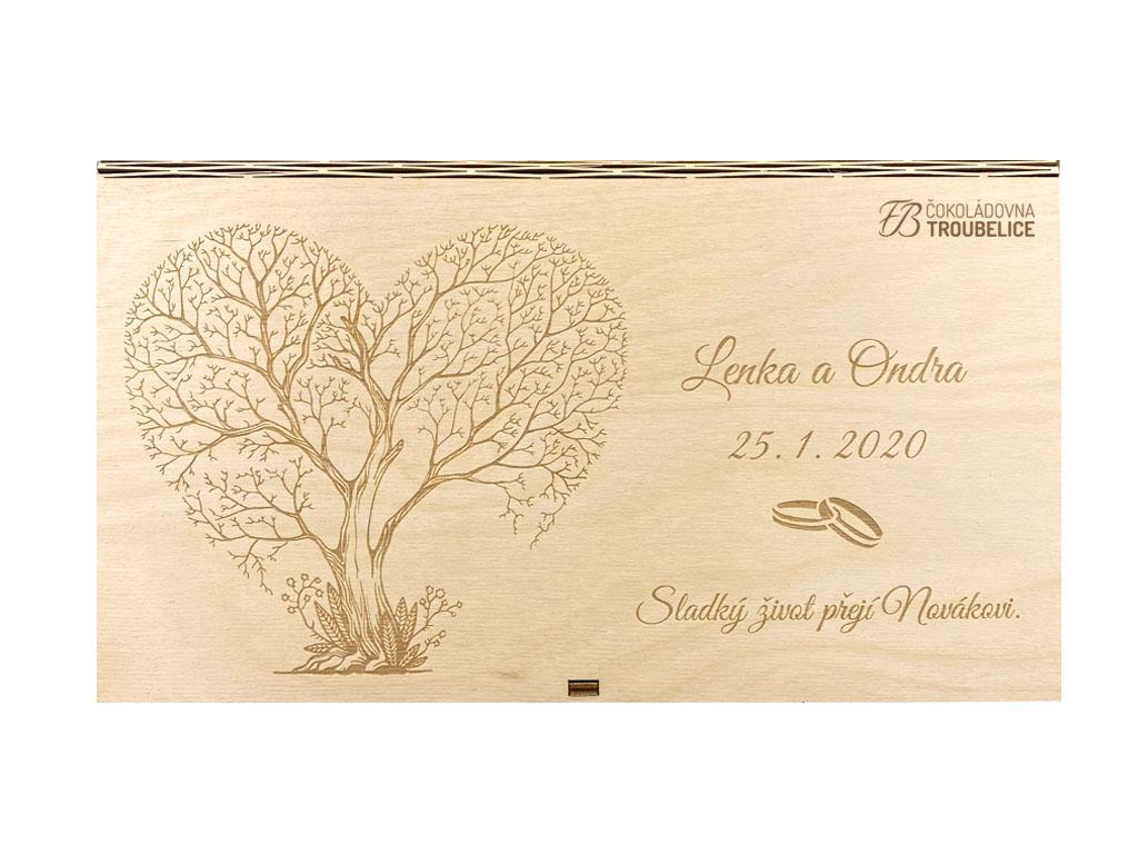 kazeta svatba vlastní grafika exp. 0,39, logo