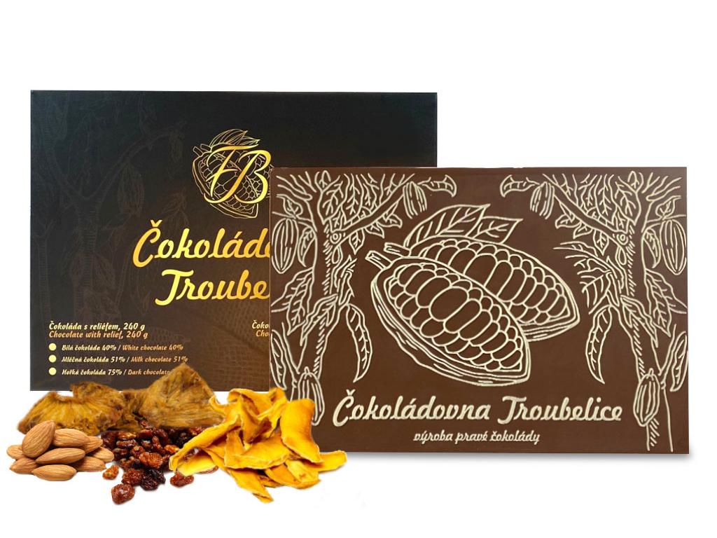 kakaový bob 120 g s ovocem
