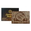 Velká čokoláda s reliéfem KAKAOVÝ BOB 240g, Čokoládovna Troubelice