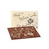 Čokoláda Valentýn - perleťový obal, 120 g, Čokoládovna Troubelice