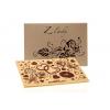 """Velká čokoláda """"Z lásky"""" - perleťový obal, 120 g, Čokoládovna Troubelice"""