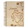 Svatební deník holubička, A5