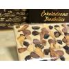 Velká čokoláda s reliéfem KAKAOVÝ BOB, se sušeným ovocem a ořechy 300g
