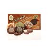 Čokoládová kolečka 4ks + kak. boby 4ks