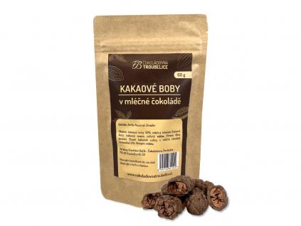 kakaove boby v mlecne cokolade