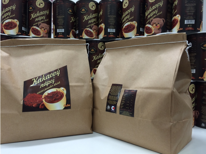 Kakaový nápoj v prášku, pytel 5 kg, Čokoládovna Troubelice