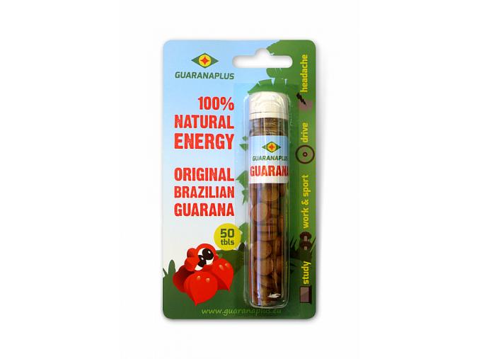 guarana 50tablets blister new