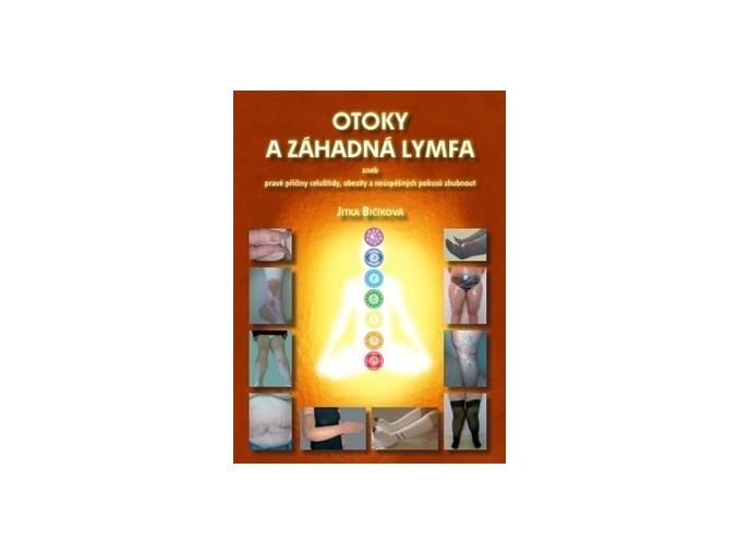 Kniha Otoky a záhadná lymfa