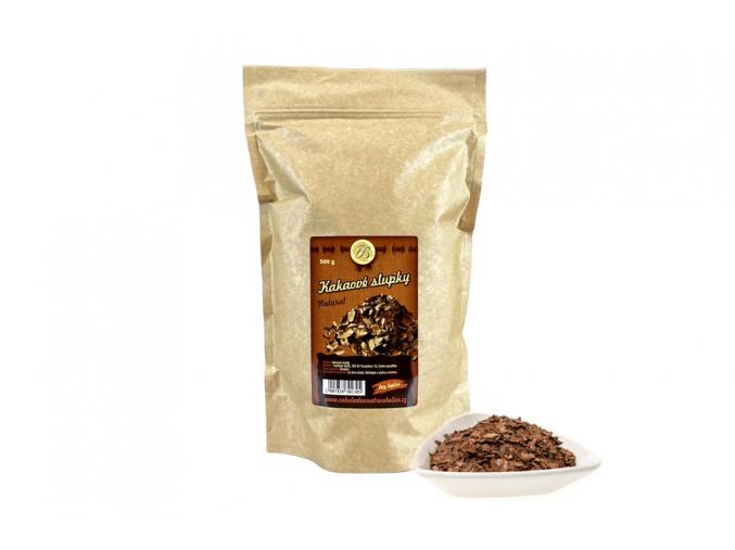 kakaové slupky s miskou