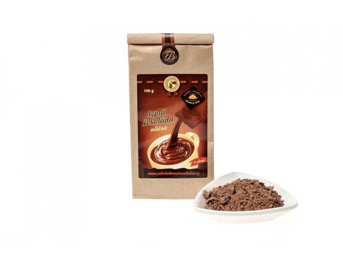 Teplá čokoláda mléčná - 5 kg, Čokoládovna Troubelice