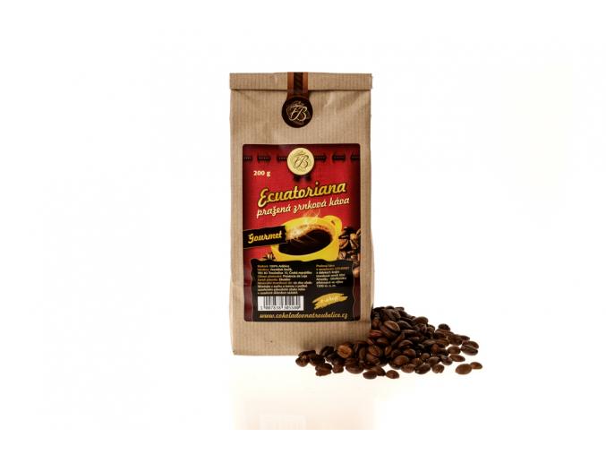 Káva Ecuatoriana zrnková, 200g