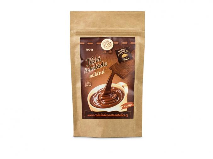 Teplá čokoláda mléčná, Čokoládovna Troubelice