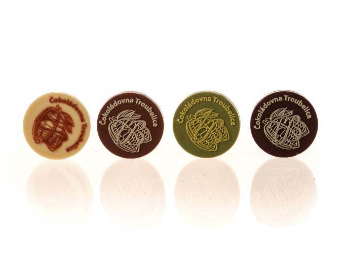 Čokoládové kolečko, 5g, Čokoládovna Troubelice