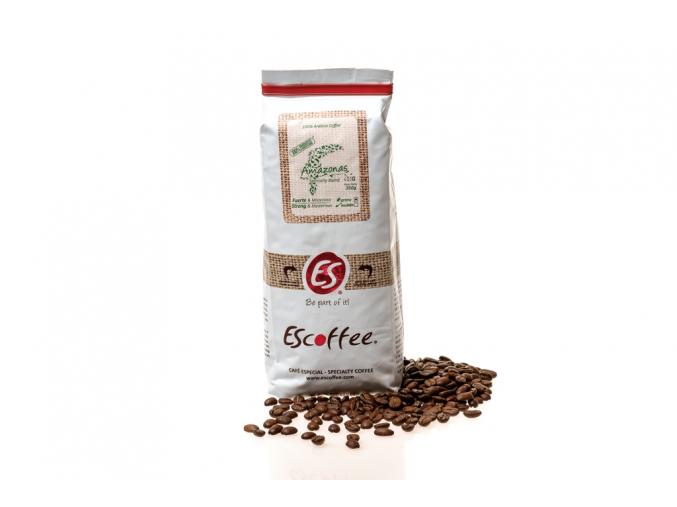 Káva Escoffee AMAZONAS zrnková, 350g