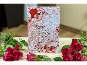 valentýn obal barevný