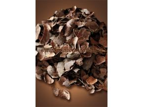 Kakaové slupky, částečně rozdrcené - pytel, Čokoládovna Troubelice