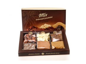 Dárkové balení kakaových produktů, 170g, Čokoládovna Troubelice