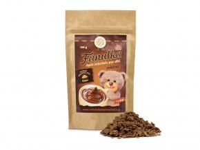 Teplá čokoláda mléčná FANULKA pro děti, Čokoládovna Troubelice
