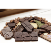Čokoláda mléčná 51% s KÁVOVÝMI ZRNY, 45 g, Čokoládovna Troubelice