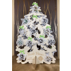 Vánoční stromeček dřevěný s čokoládami - oboustranný