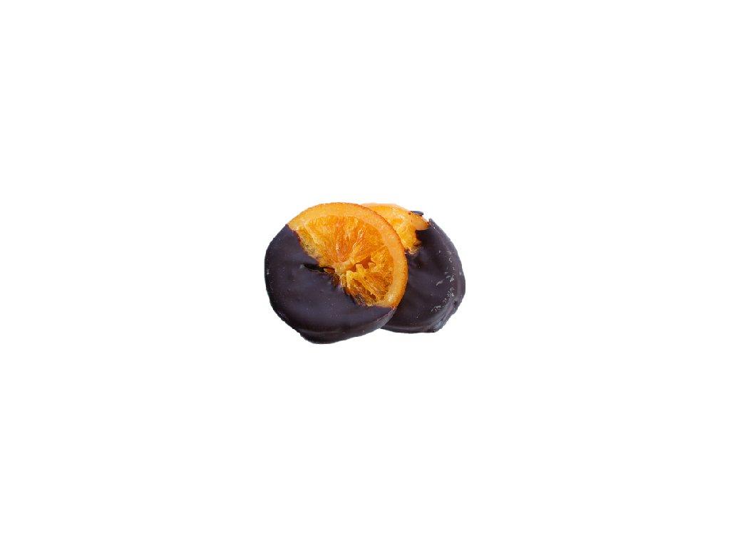 pralinka máčený pomeranč 100