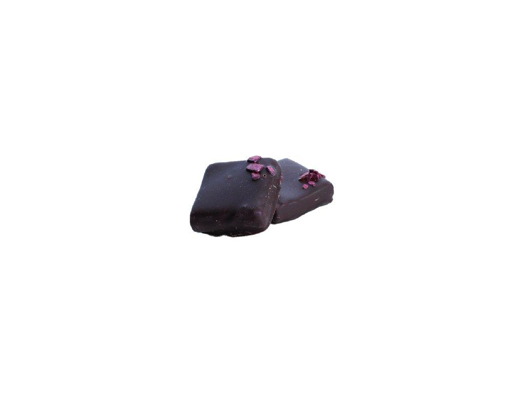 pralinka černý rybíz 100