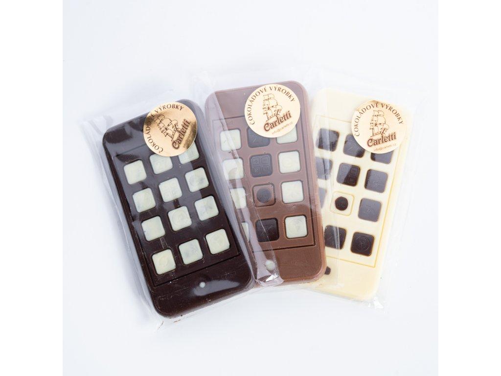 Čokoládová figurka Telefon