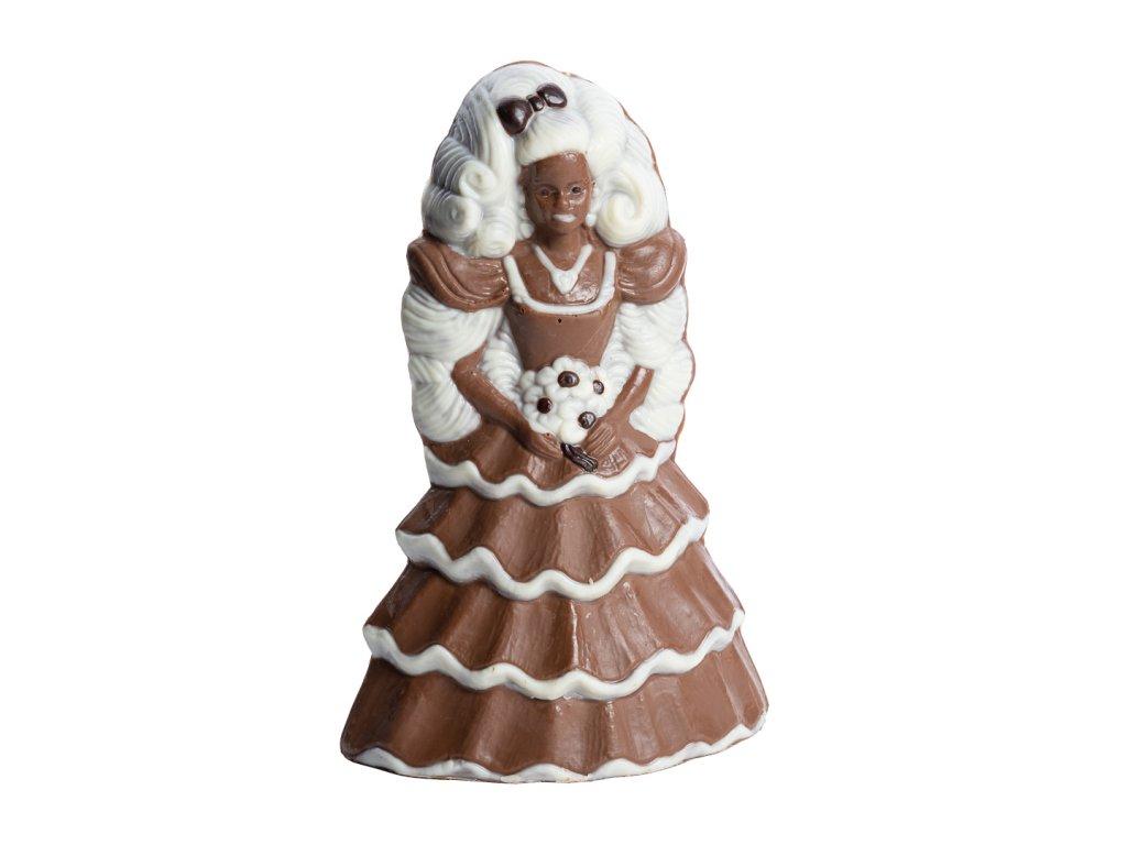 čokoládová fugurka panenka barbie