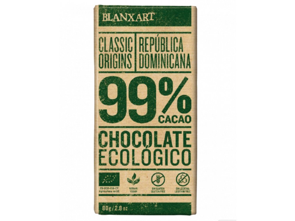 Blanxart Dominikánská Republika 99% BIO