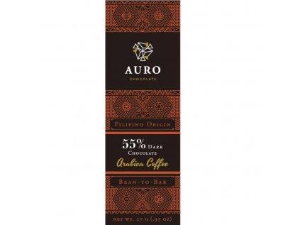 Auro Arabica coffee dark 55 27 gr front 800x800