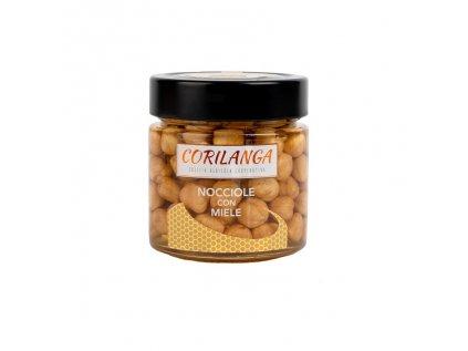 nocciola tostata con miele