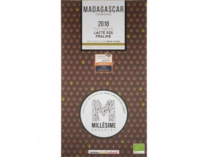 Millesime Madagascar 55 milk praline front 850x850 1