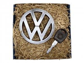 Volkswagen - sada s klíčem z čokolády