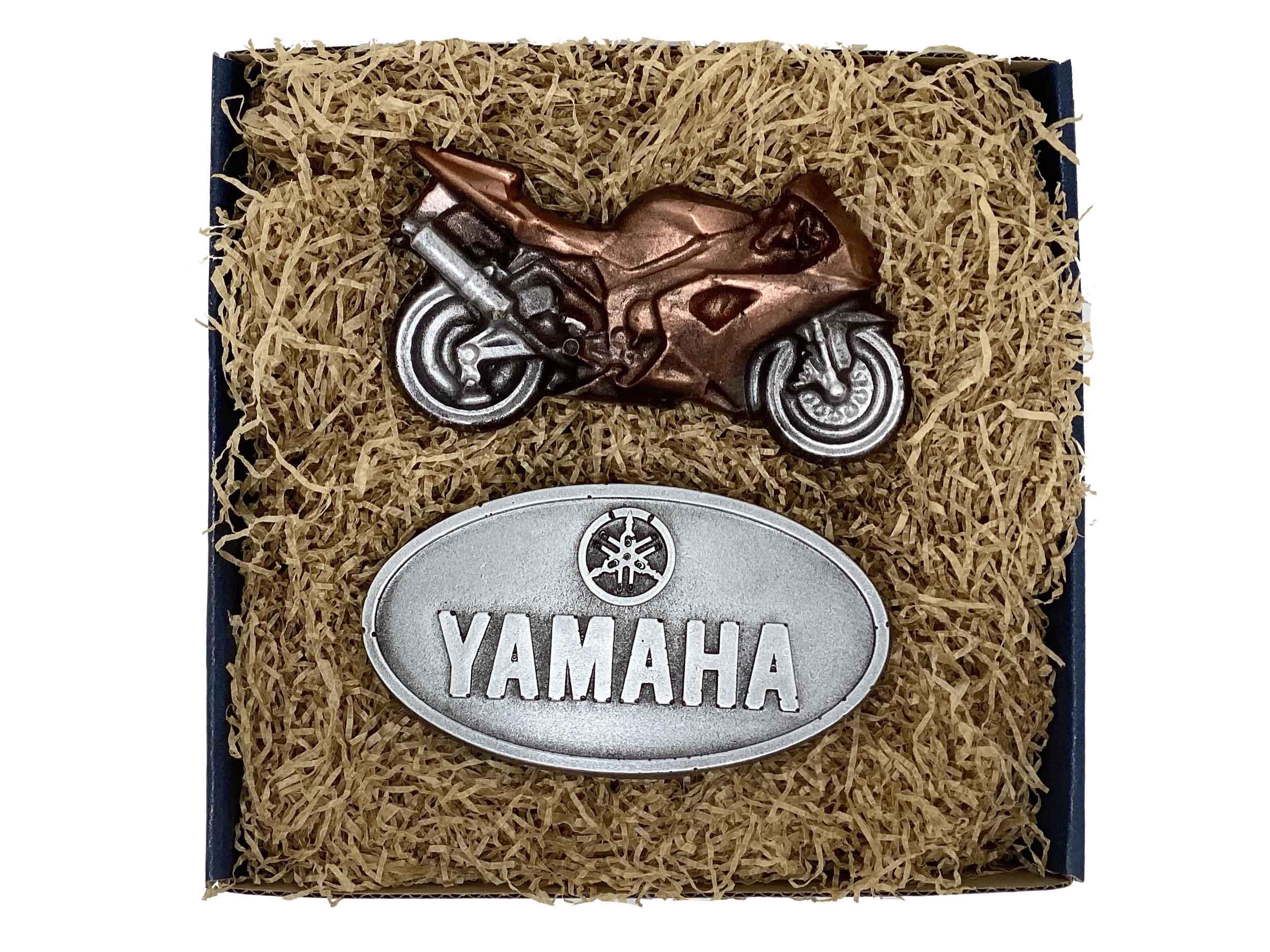 Levně Čokolandia Yamaha - Čokoládový znak s motorkou