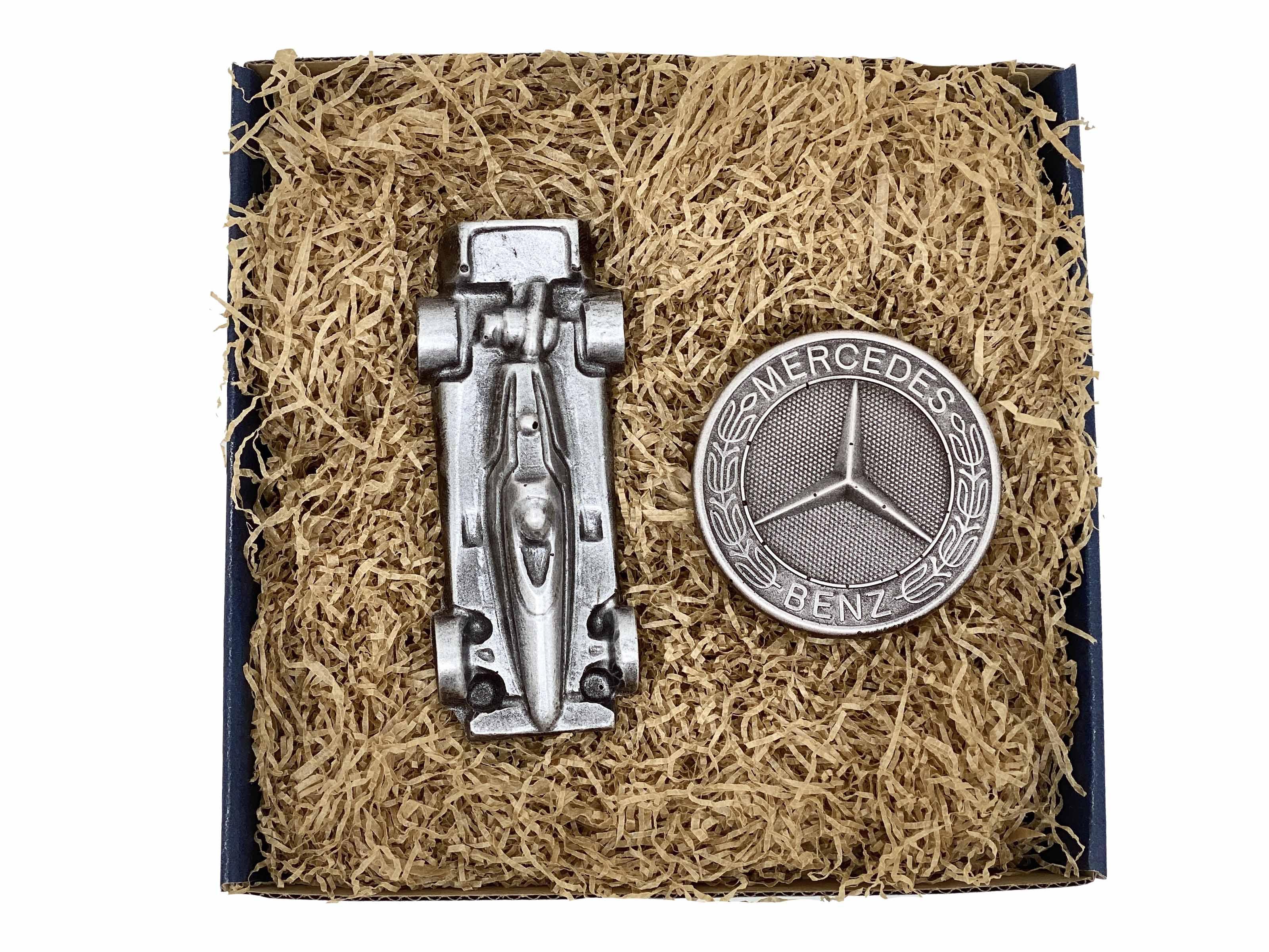 Levně Čokolandia Mercedes - Čokoládový znak s formulí