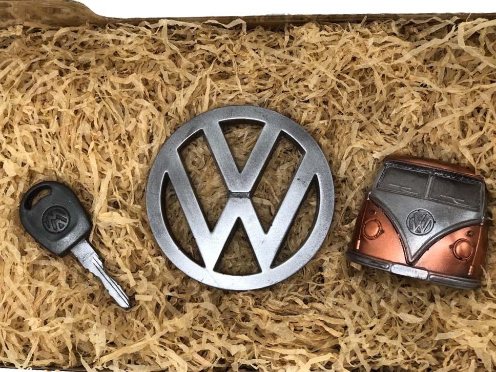 Levně Čokolandia Čokoládové nářadí - auto sada VW (čokoláda 58%)