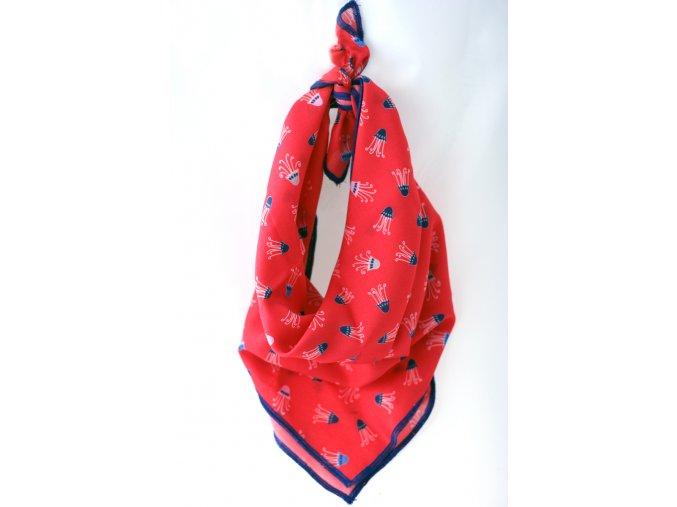 482 satek cerveny chobotnicky